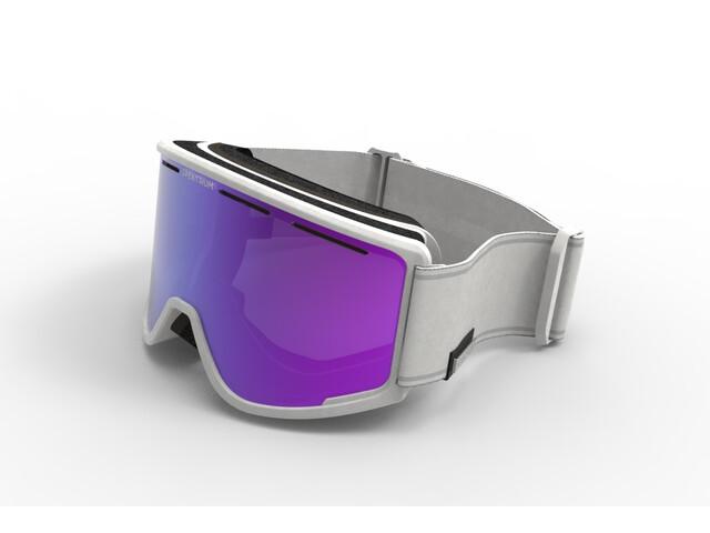 Spektrum Templet Goggles cool grey/brown revo mirror blue